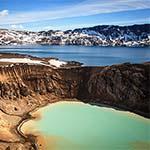 Vulkaan IJsland - Askja