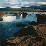 Watervallen IJsland - Godafoss