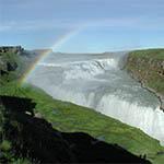 Watervallen IJsland - Gullfoss