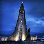 Gebouwen Reykjavik - Hallgrimskirkja