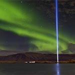 Gebouwen Reykjavik - Imagine Peace Tower