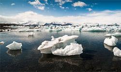 Jokulsarlon gletsjermeer IJsland