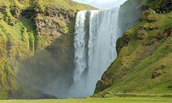 Watervallen IJsland
